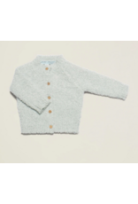 Barefoot Dreams CozyChic Infant Cardigan in Blue