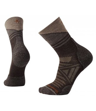 Smartwool M's PhD Outdoor Light Pattern Mid Crew Socks