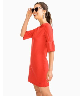 Southern Tide W's Gameday Micro Stripe Dress
