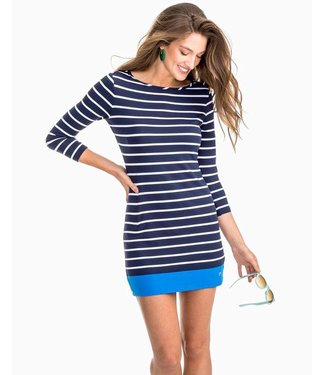Southern Tide W's Coastline Stripe Knit Dress