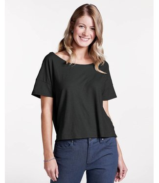 Toad & Co W's Tissue Crop Short Sleeve Tee