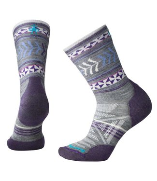 Smartwool W's PhD Outdoor Light Pattern Crew Socks