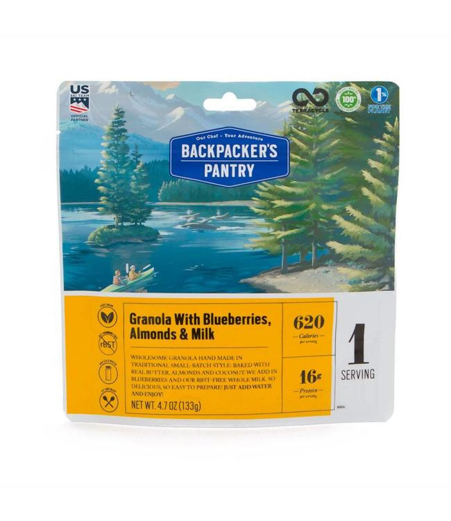 Backpackers Pantry Granola w/ Milk & Blueberry