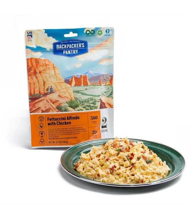 Backpackers Pantry Fettuccini Alfredo Chicken