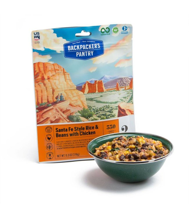 Backpackers Pantry Santa Fe Rice w/ Chicken