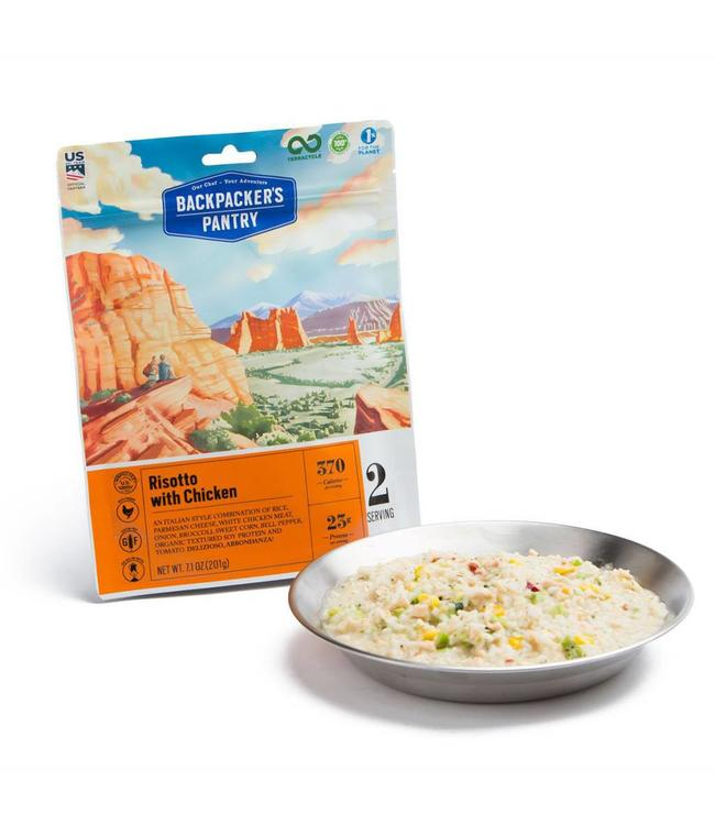 Backpackers Pantry Risotto Rice w/ Chicken
