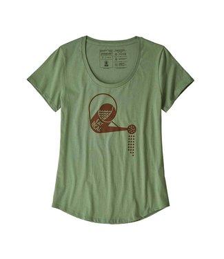 Patagonia W's Eat Local Rain Can Organic Scoop T-Shirt