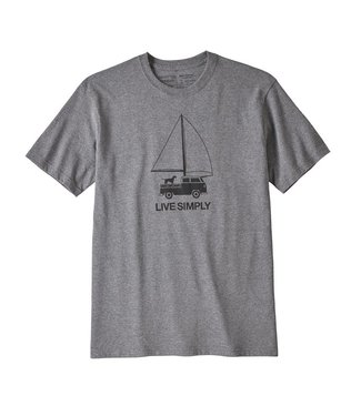 Patagonia M's Live Simply Wind Powered Responsibili-Tee