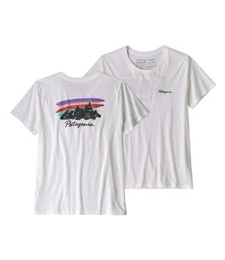 f5035e90500569 Patagonia W's Free Hand Fitz Roy Organic Crew T-Shirt