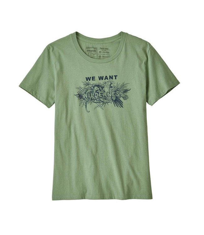 d609171143159e Patagonia W's We Want Wilderness Organic Crew T-Shirt - Quest Outdoors
