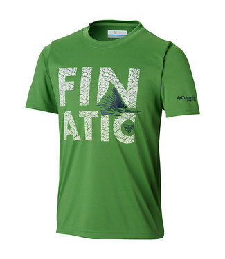 Columbia Sportswear Boys' PFG™ Finatic Short Sleeve Shirt
