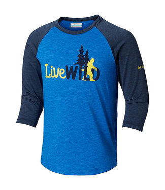 Columbia Sportswear Kids' Outdoor Elements™ 3/4 Sleeve Shirt