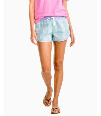 Southern Tide W's Club Habana Plaid Lounge Short