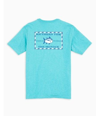Southern Tide M's SS Heather Original Skipjack Tee