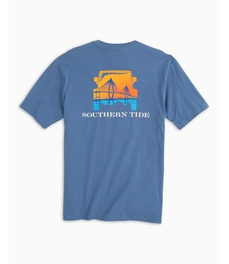 Southern Tide M's SS Sunset Bridge Tee
