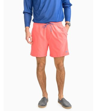 Southern Tide M's Solid Swim Trunk
