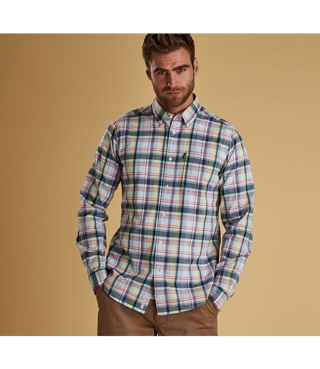 Barbour M's Madras 1 Tailored Fit