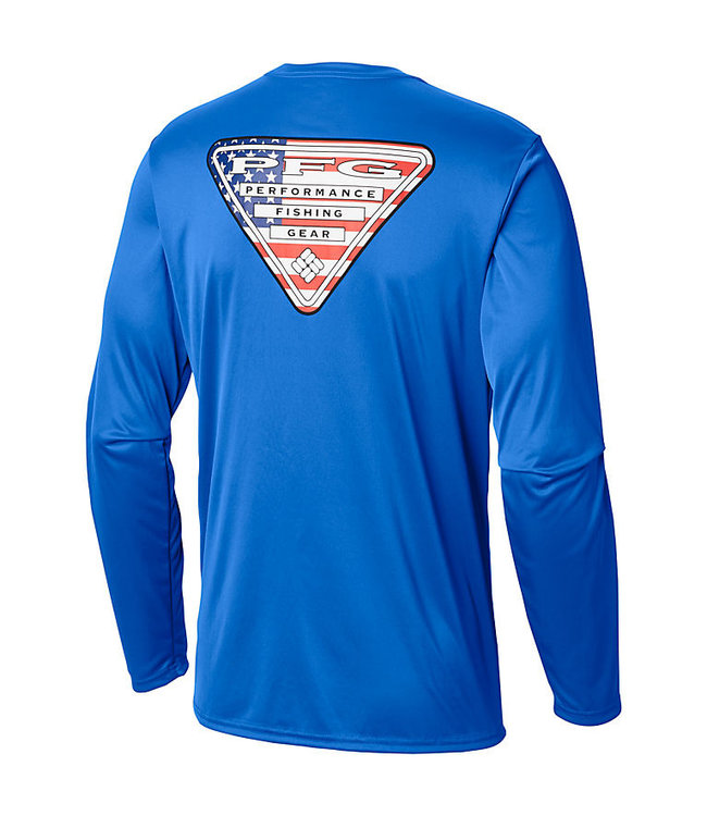 15e2a2cf Columbia Sportswear Men's Terminal Tackle PFG State Triangle™ Long Sleve  Shirt
