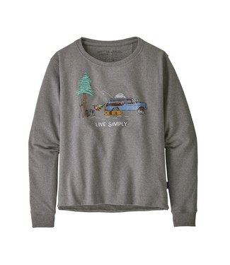 Patagonia W's Live Simply Lounger Uprisal Crew Sweatshirt