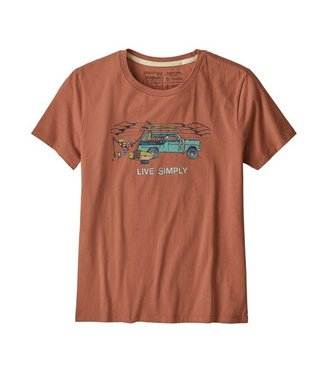 Patagonia W's Live Simply Lounger Organic Crew T-Shirt
