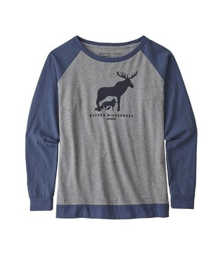 Patagonia W's L/S Defend Wilderness Responsibili-Tee