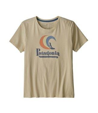 Patagonia W's On Rail Organic Crew T-Shirt