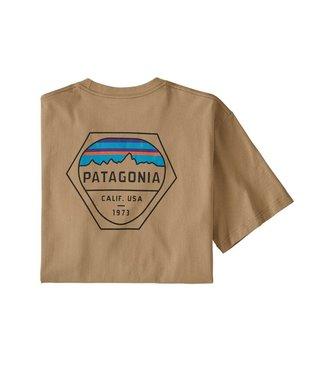 Patagonia M's Fitz Roy Hex Responsibili-Tee