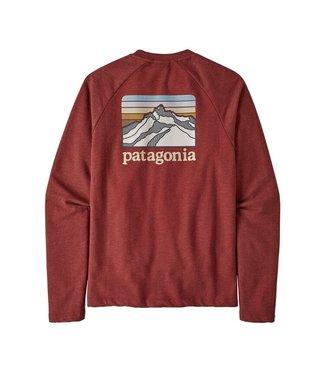 Patagonia M's Line Logo Ridge LW Crew Sweatshirt