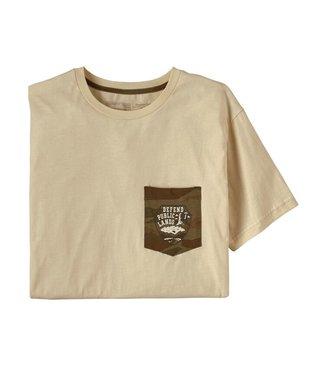Patagonia M's Defend Public Lands Organic Pocket T-Shirt