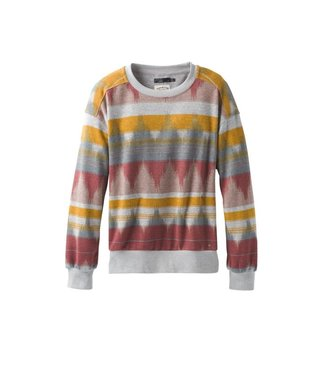 PrAna Women's Cozy Up Printed Sweatshirt