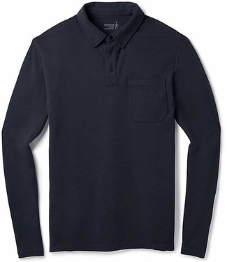 Smartwool Men's Merino 250 Long Sleeve Polo