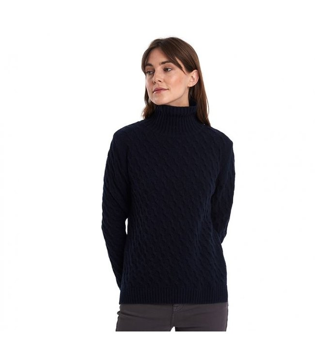 Barbour W's Burne Knit Sweater