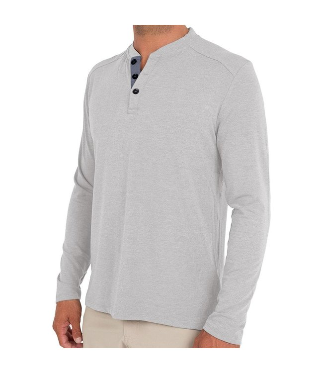Free Fly M's Bamboo Flex Henley