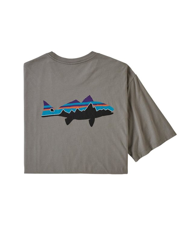 Patagonia M's Fitz Roy Fish Organic T-Shirt