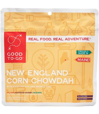 Good To-Go Foods New England Corn Chowdah