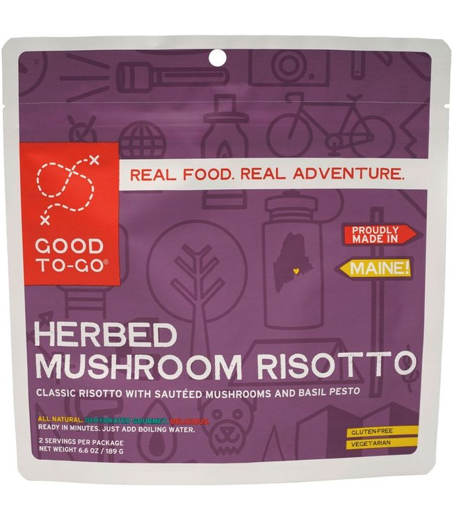 Good To-Go Foods Mushroom Risotto