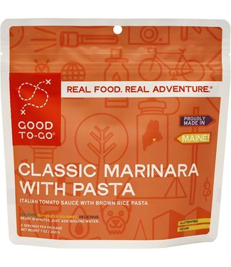 Good To-Go Foods Classic Marinara with Pasta
