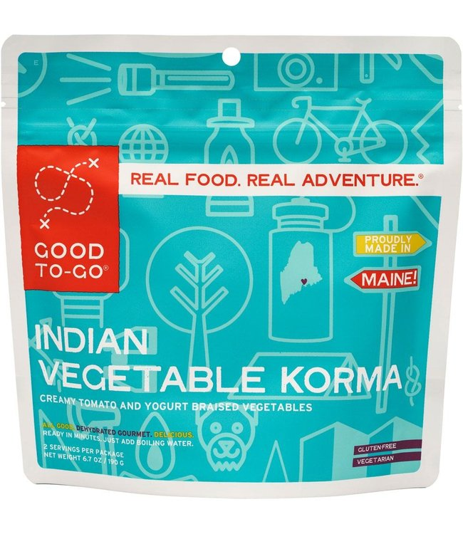 Good To-Go Foods Indian Vegetable Korma
