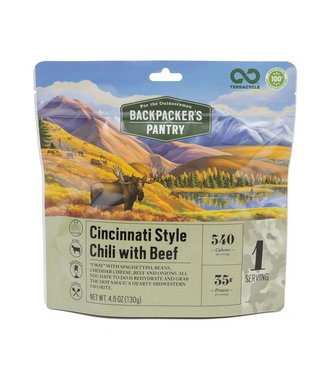 Backpackers Pantry Outdoorsman Cincinnati Chili