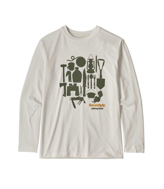 Patagonia Boys' L/S Cap Cool Daily T-Shirt