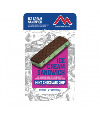 Mountain House Foods Mint Chocolate Ice Cream Sandwich