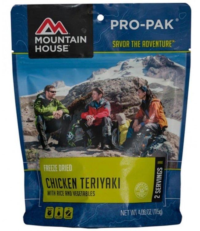 Mountain House Foods Pro-Pak Chicken Teriyaki w/ Rice