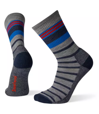 Smartwool M's Hike Light Striped Crew