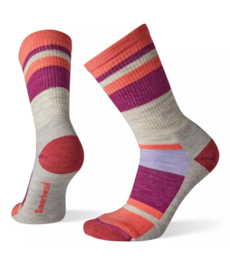 Smartwool W's Hike Light Striped Crew