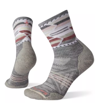 Smartwool W's PhD® Outdoor Light Pattern Mid Crew