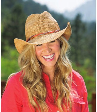 Wallaroo Hat co. W's Catalina Cowboy Hat
