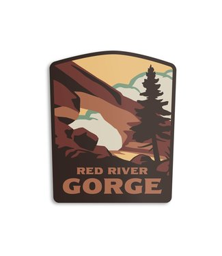 The Landmark Project Red River Gorge Sticker