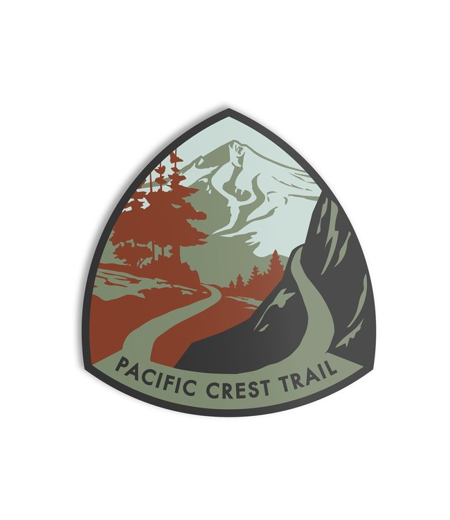 The Landmark Project Pacific Crest Trail Sticker