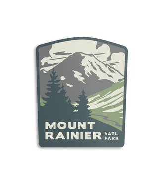 The Landmark Project Mount Rainier Sticker
