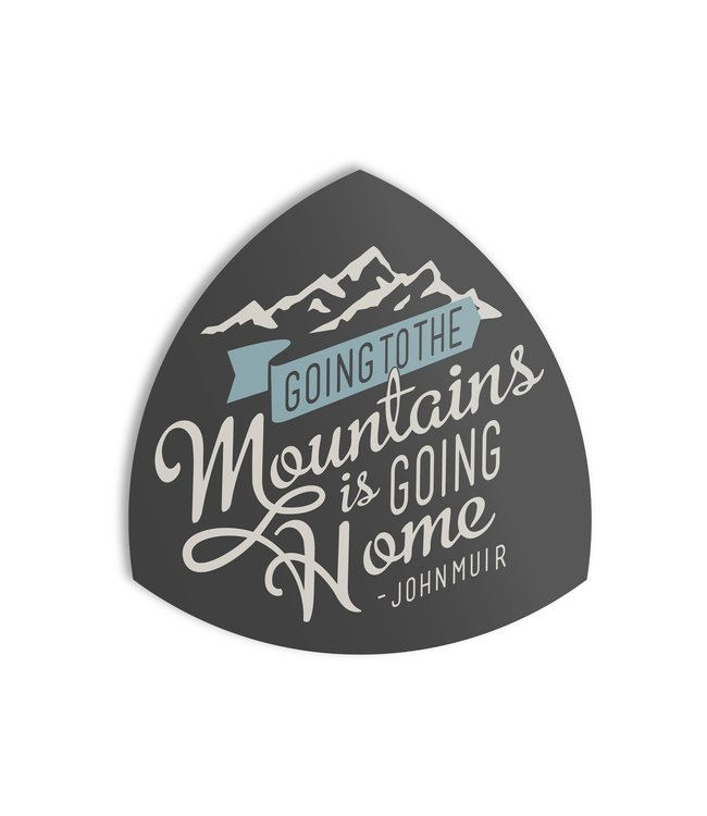 The Landmark Project Going to the Mountains Sticker